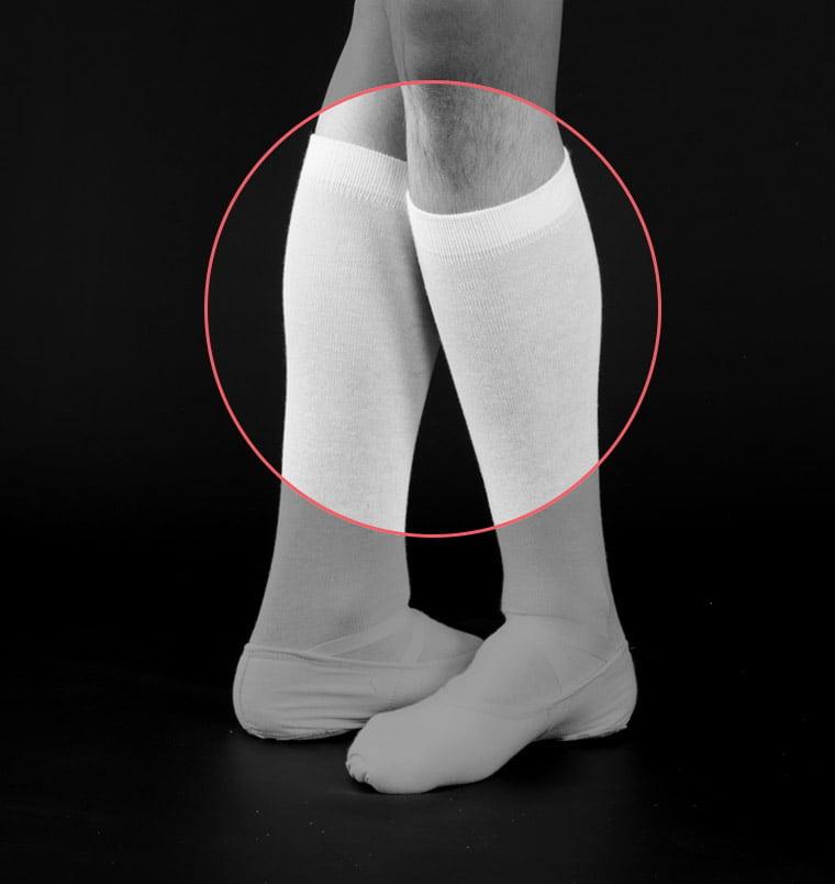 calcetines de danza clásica para chicos