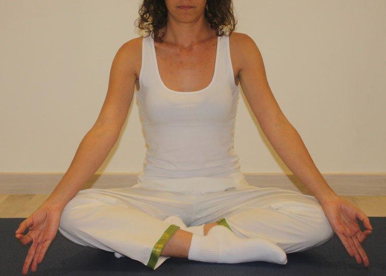 calcetines para la práctica de yoga