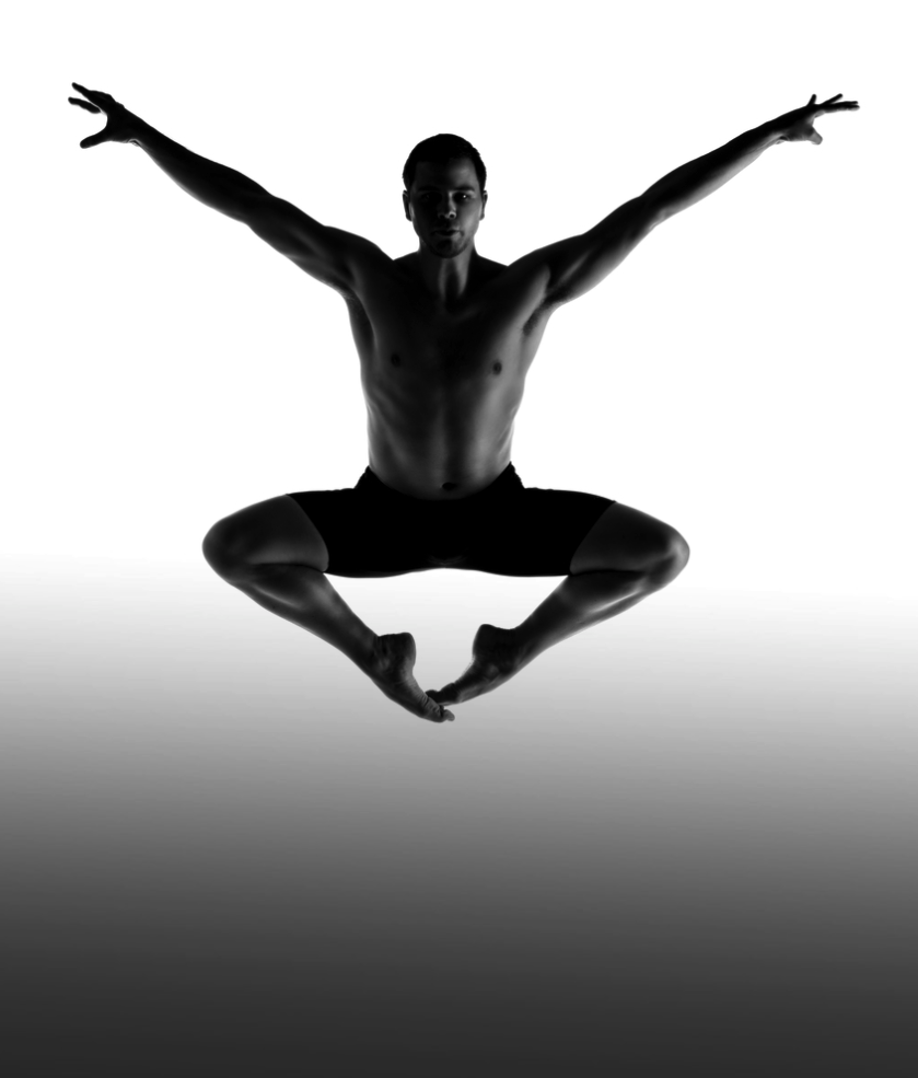 contemporary male dancer