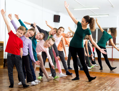 Dance clothes in school's dance starts at your feet