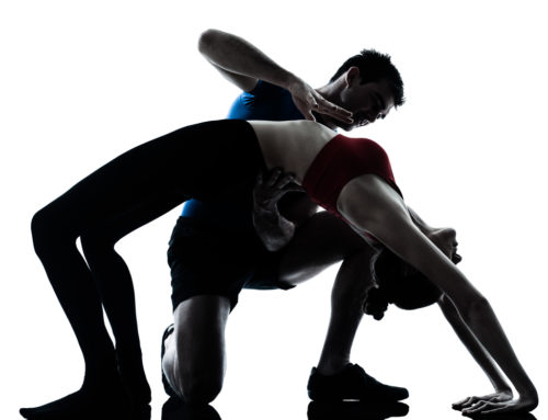 La práctica del yoga con calcetines técnicos