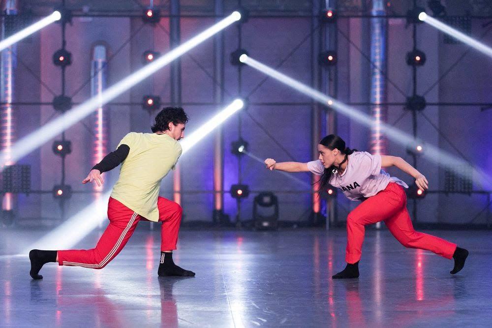 Ugo y Oriana, en la gala de eliminación de fama a bailar