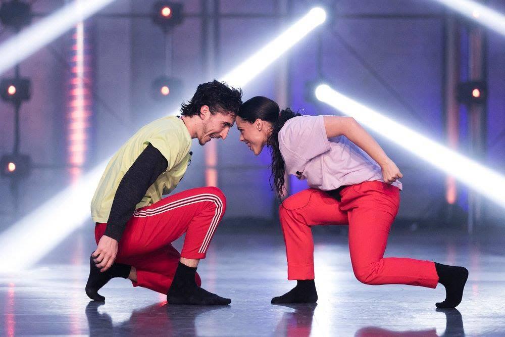 Ugo y Oriana, a tope con la coreografía en fama a bailar