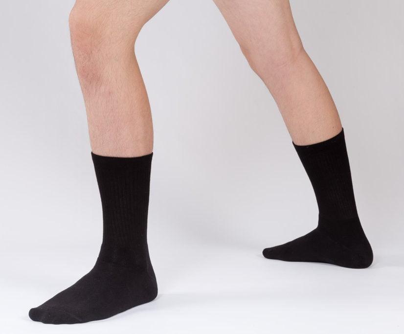 calcetines negros de danza