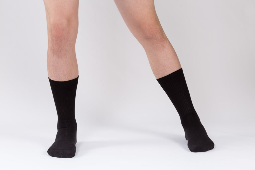 dance contemporary black socks