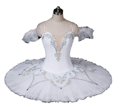 Dress White Ballet Tutu